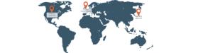 LMS365データセンターマップ